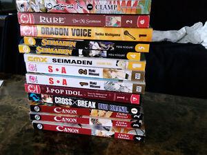 Manga books miscellaneous. 13 books Cambridge Kitchener Area image 1