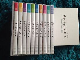 Friends complete DVD box set all 10 seasons