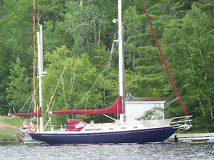 Alberg 37 Yaul Rigged, stored inside for 28 plus years