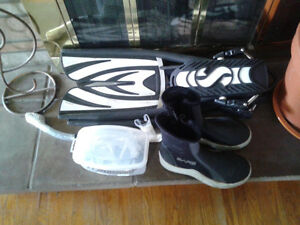 Scubagear, boots, Snorkel, Mask & flippers all for $80 OBO