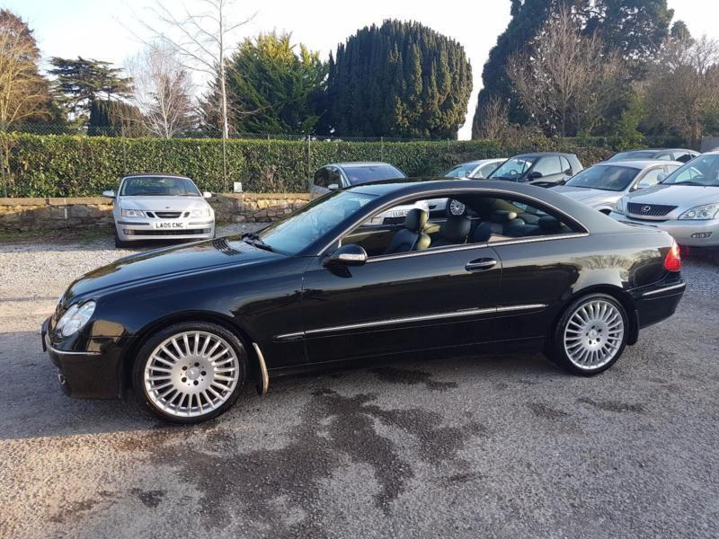 2006 mercedes clk 200 avantgarde 1 8 kompressor automatic black 17 alloys in taunton somerset. Black Bedroom Furniture Sets. Home Design Ideas