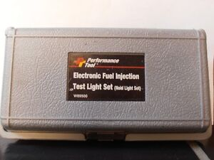 FUEL INJECTOR TESTER  -  W89500