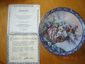 Retired Lena Liu collector Plates - Qty of two London Ontario image 1