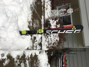 130 fisher skis- junior