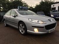 2005 Peugeot 407 2.0HDi SE *78k MILES* Full Service History 3 Owners