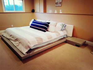 King Size Modloft Platform Bed