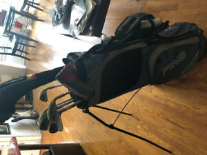 Ping eye #1 almost full set, driver, putter, and bag included