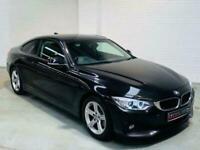 BMW 4 SERIES 420D SE COUPE 2 DOOR BLACK DIESEL MANUAL 2013 F32 F30