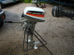 4 HP JOHNSON OUTBOARD FOR SALE