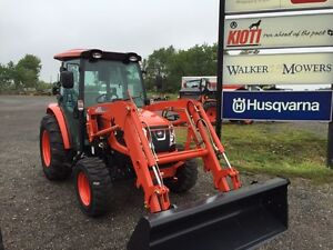 Kioti NX4510CH with front end loader