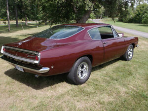 1968 PLYMOUTH BARRACUDA SUPER STOCK REPLICA