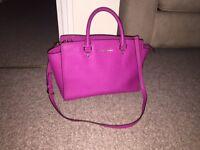 Pink Michael Kors Selma Bag