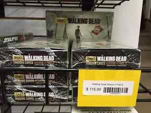Walking Dead Season 4 Trading Cards Sealed Boxes In Stock NOW