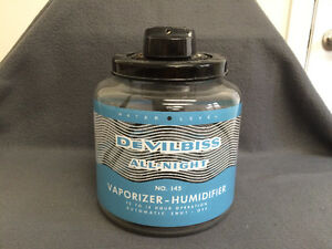 Collectible Antique DeVilbiss All Night Vapourizer-Humidifier Be