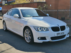 image for 2011 BMW 320D 2.0 M SPORT 2 DOOR COUPE 6 SPEED MANUAL WHITE TOP SPEC
