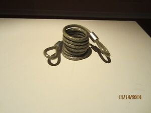 6 Foot Self-Coiling Cable (USA or Canada made) West Island Greater Montréal image 1