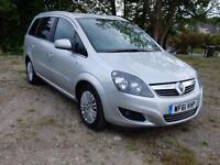 Vauxhall/Opel Zafira 1.7TD Excite ( Special Model ) 2011/ 61 Plate