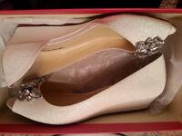 Wedding/bridesmaid shoes - ladies size 7 1/2