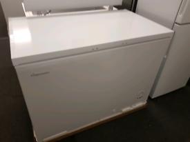 Brand New Fridgemaster MCF306 112.5cm Chest Freezer - White