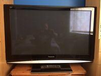 "PANASONIC 42"" plasma tv (SOLD)"