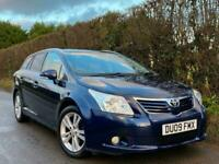 2009 Toyota Avensis 2.0 D-4D T4 5dr**HIGH SPEC ESTATE - LOW 96k MILES FSH** DELI