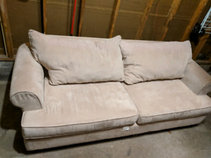 Micro  fiber    2  SEATER    couch.  FREE   DELIVERY.