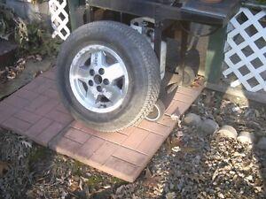 Original Jeep wheel & tire Belleville Belleville Area image 1