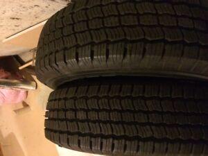2 brand new LT225/75 R17 tires