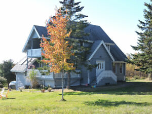Lovely cozy and warm country home along Fundy shore (N.S.)