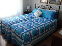 Homemade quilts for sale- large quilts, baby quilts, runners