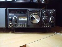 kenwood ts-130s hf set +30 amp matching power supply