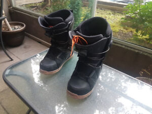 ThirtyTwo Men's Binary Snowboarding Boots, Size 9.5 - BOA system