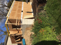 Looking for residential construction helper - occasional days