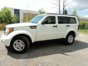 2009 DODGE NITRO SXT/SE 4X4 EX- GOVERNMENT UNIT CERTIFIEDE-TEST
