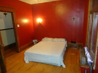 1650ft2/ $625- Heated Big and beautiful furnished bedroom.