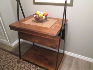 Beautiful hand crafted entrance table!