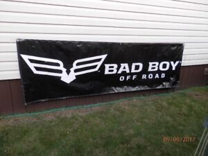 Bad Boy Off Road Banner 3' x 10' *Excellent Christmas Gift*
