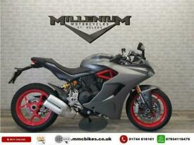 2020 (20) DUCATI SUPERSPORT 939 FINISHED IN GREY WITH 7907 MILES