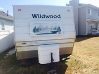 2004, 26ft Wildwood holiday trailer
