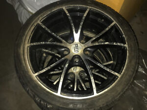 """18"""" 5 bolt pattern rims and tires"""