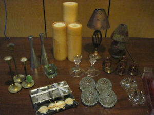 Various candle holders *Moving*
