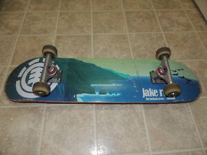 Element skateboard complete set up.
