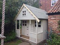 10ft x 10ft 2 storey playhouse
