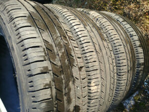 4 tires 235 65 17 michelin 50-70% tread life