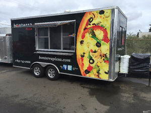 2013 Complete Pizza Concession Trailer