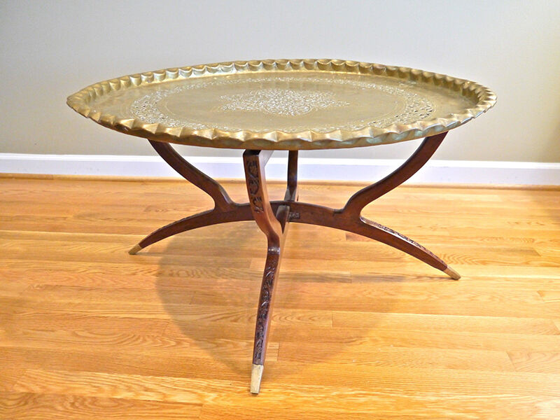 Your Guide to Buying a Brass Tray Table