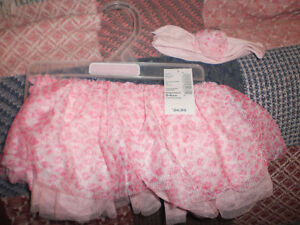 New w/ tag girls 0-6m tutu w/ headband Children's place London Ontario image 1