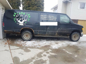 MUST SELL 2003 Ford E-350 Wagon