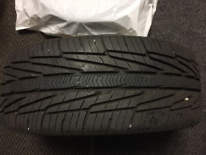 Tires mounted on VW Aluminum Wheels