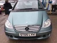 Mercedes-Benz A160 2.0TD CDI Elegance SE 5 DOOR - 2005 05-REG - 11 MONTHS MOT